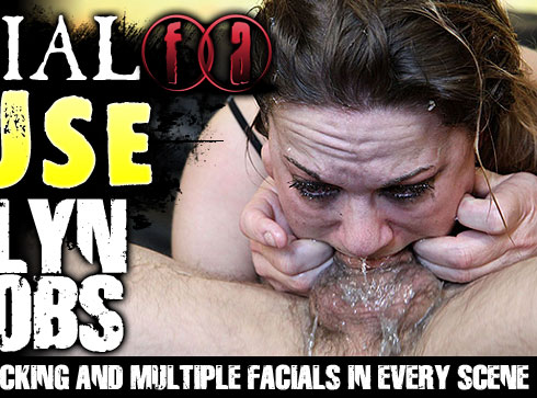Facial Abuse Starring Evelyn Jacobs