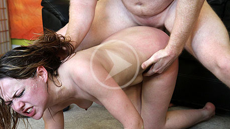 Evelyn Jacobs gets bent over and nailed doggystyle